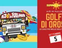 AJO' IN PULLMAN AL GOLFO DI OROSEI – DOMENICA 5 SETTEMBRE 2021