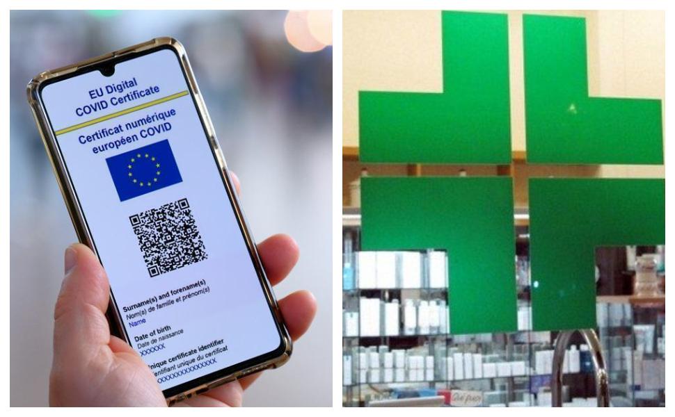 Green-pass-farmacie