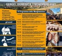 SABORIS ANTIGUS – GERGEI – DOMENICA 7 NOVEMBRE 2021
